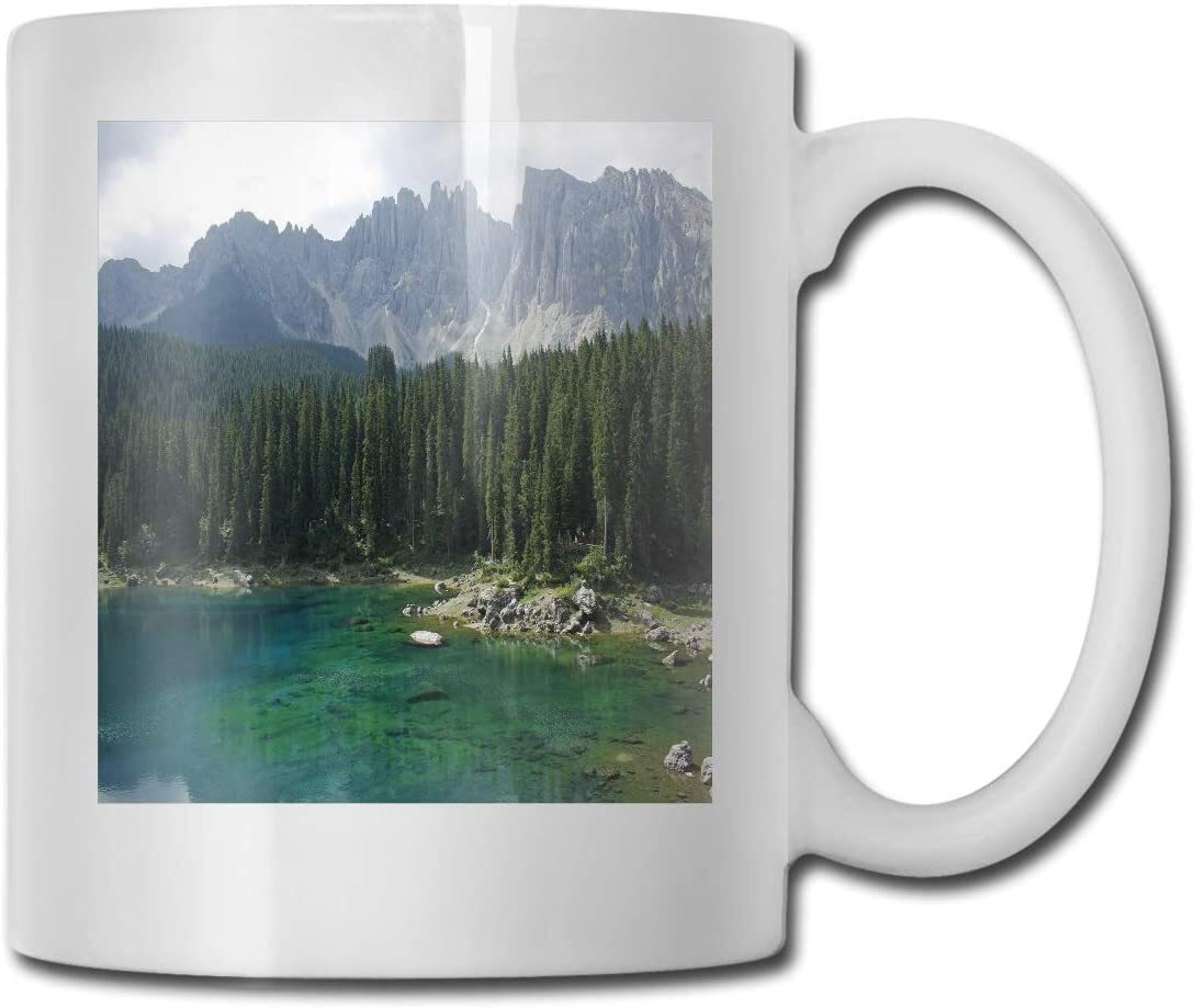 How an image will look on a cup printed on one side, I do have double sided printed cups too