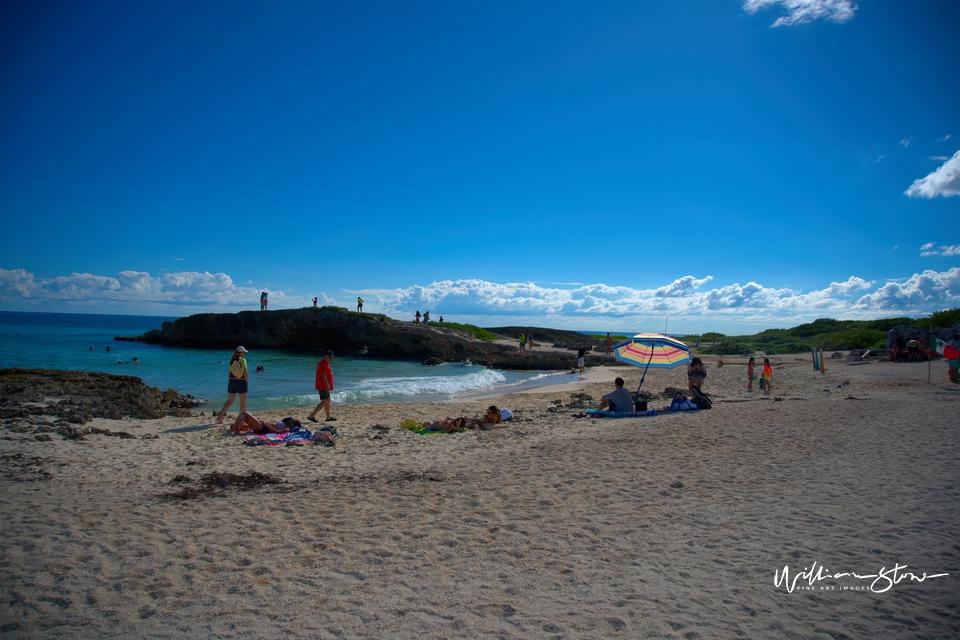 The Sandy Beach - Limited Edition, Fine Art