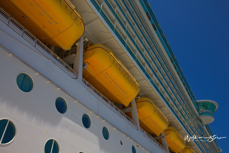 The Cruise Ship - Limited Edition, Fine Art