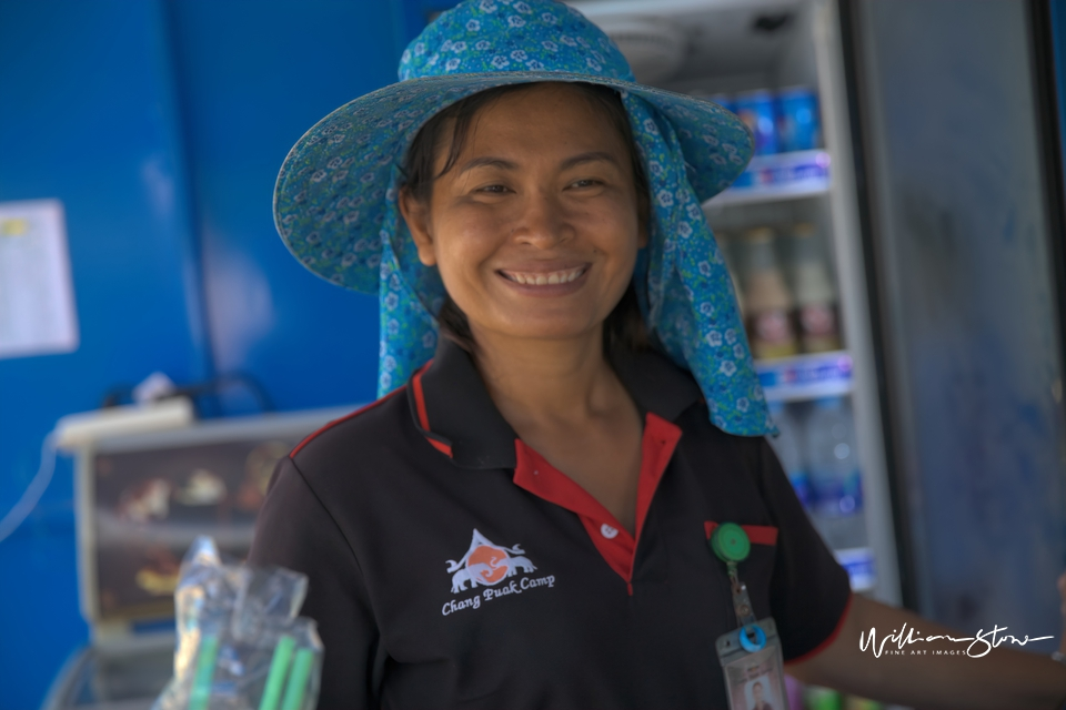 Smiling Thai - Limited Edition, Fine Art