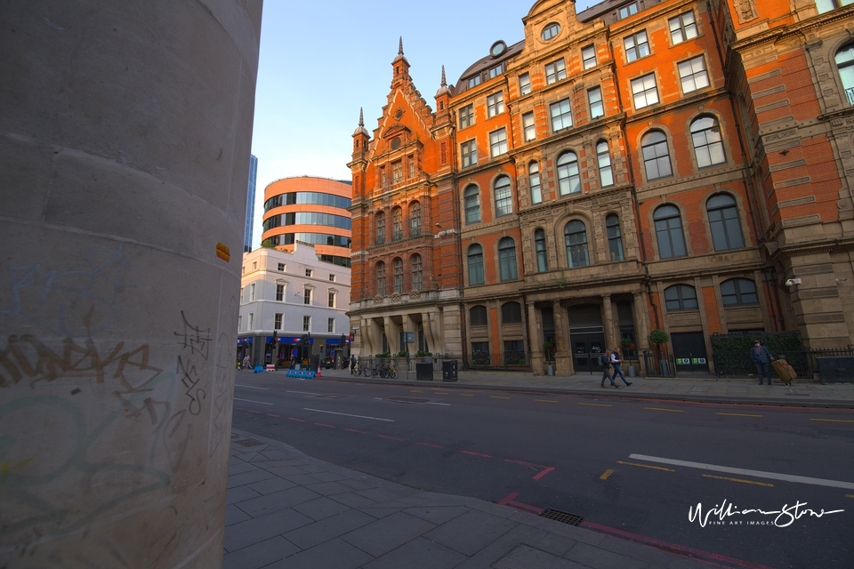 Writing on the wall, Walking Past the old building, Limited Edition, liverpool street station, William Stone, Oldest Hotel, Enjoy England