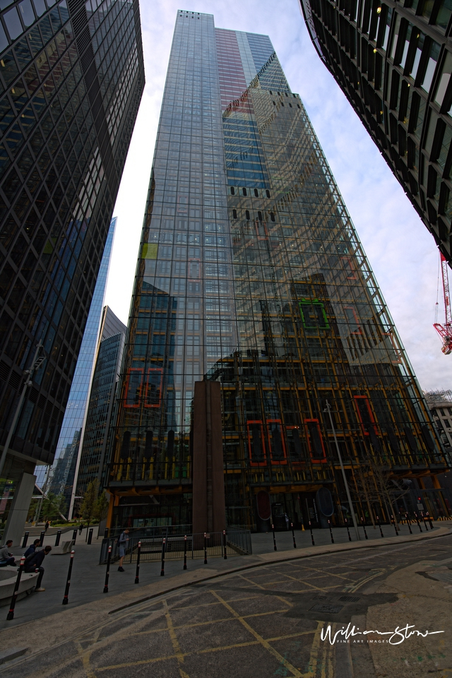New Tall Building, Primary Colours, Red Bottom, No-one Here, London, Financial District, Tallest Together