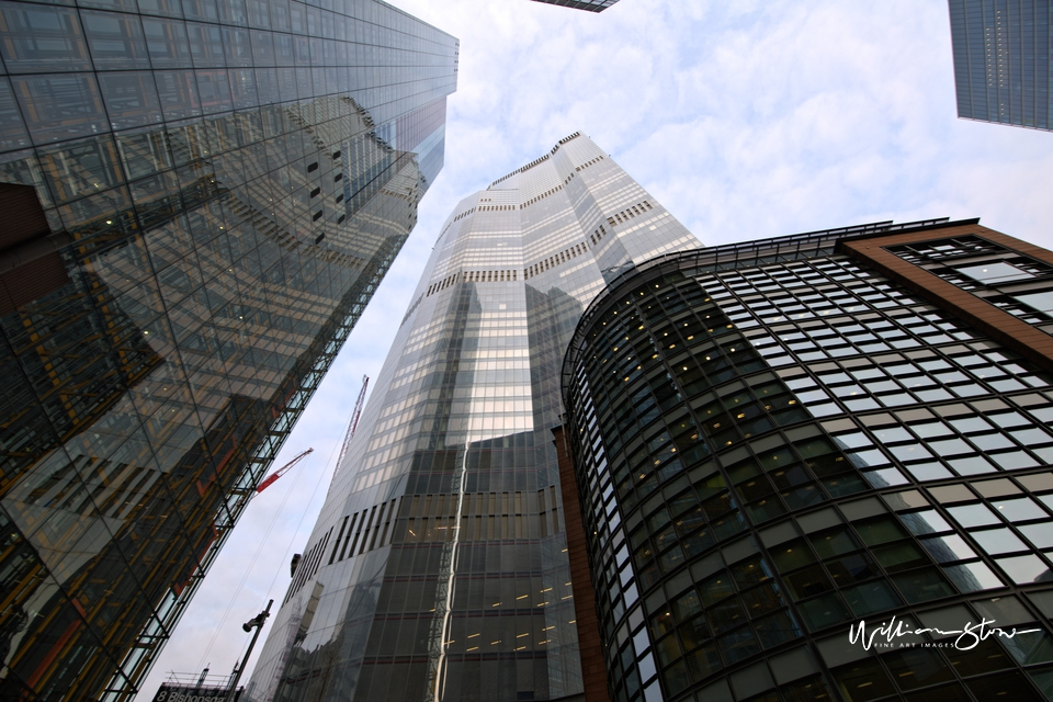 Financial District, Limited Edition, Fine Art, Too Tall, Commodities, Equities, Forex, London, United Kingdom,