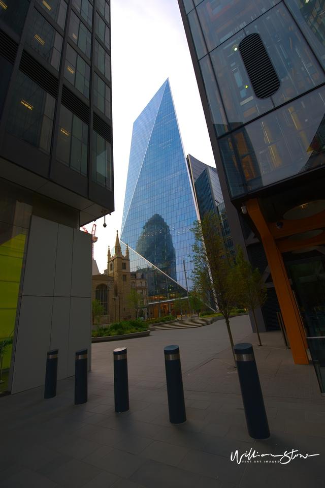 Light On, 24 hrs Energy, Three Tall Buildings, London, United Kingdom