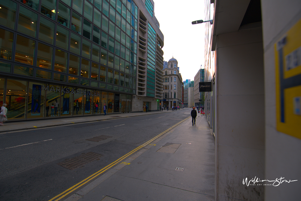 Fine Art, Limited Edition, Cycling, Spire, Lone Worker, London