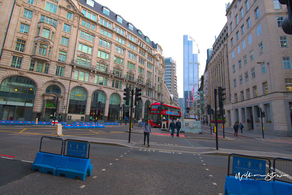 Pedestrian Zone, No Vehicles, limited edition, fine art, habitable above, William Stone, Residential Tall Building, City Of London, Big Brother Sees You