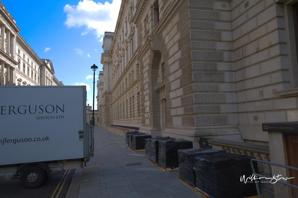 Lone Biker, Peaceful London Street, 4 secs to cross, Fine Art, Limited Edition, London, UK