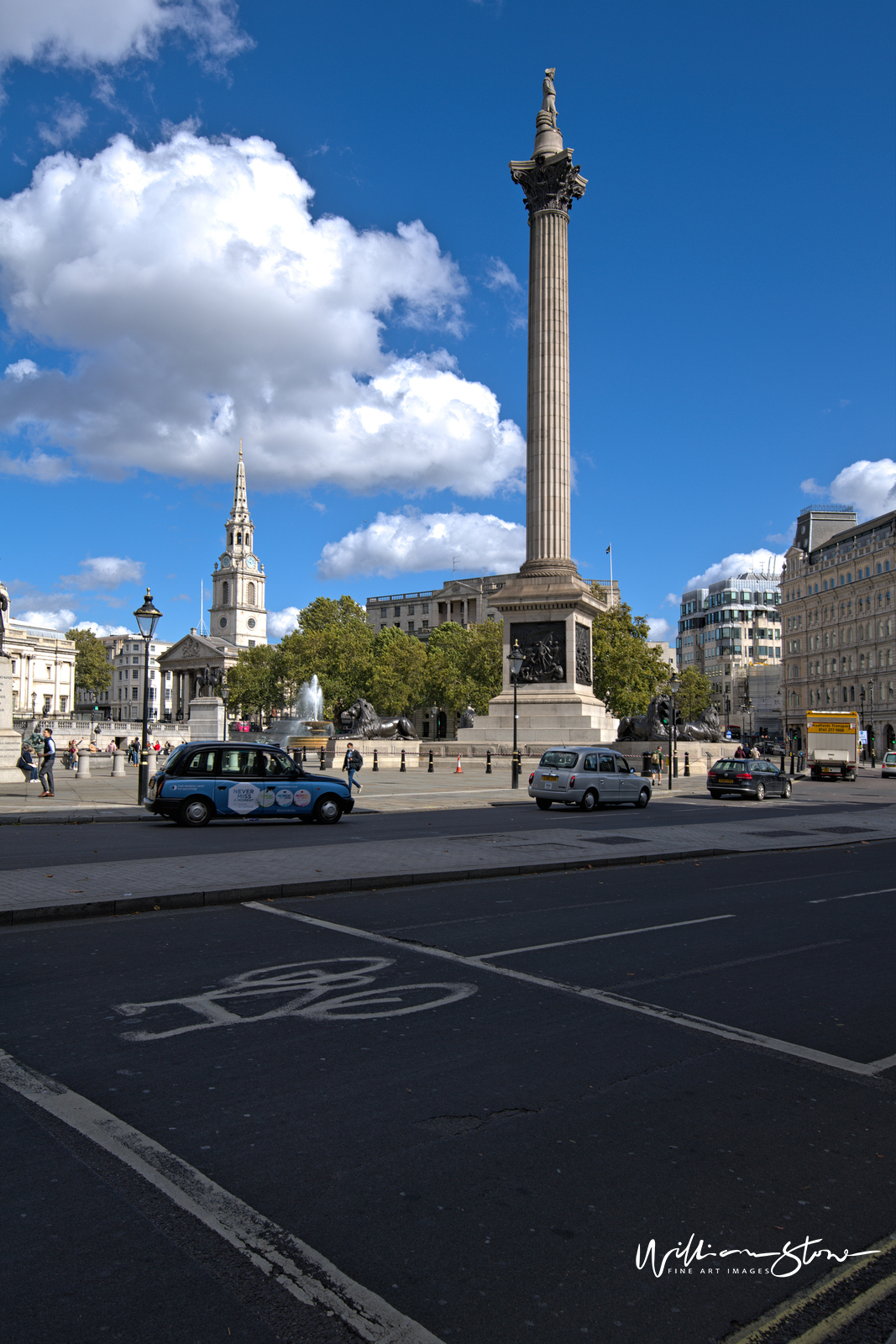 Fine Art, Limited Edition, Standing Tall In Front, London.